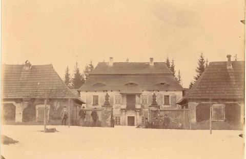 Karlštejn, velikonoce 1900-